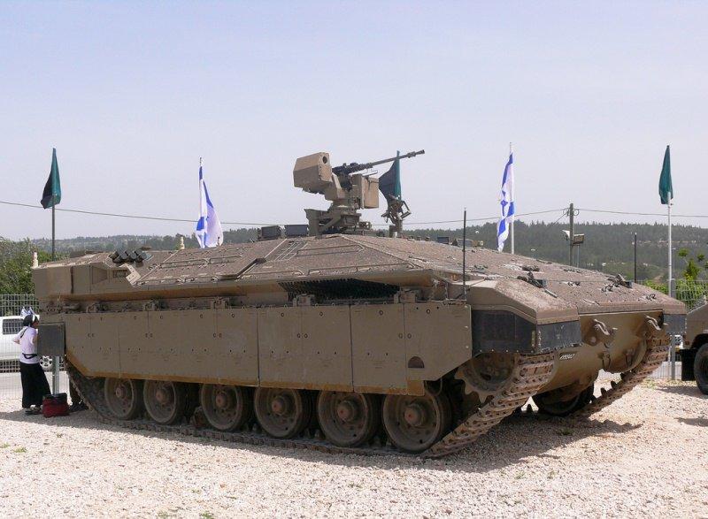 """Тяжёлая боевая машина пехоты """"Namer"""" (Израиль)"""