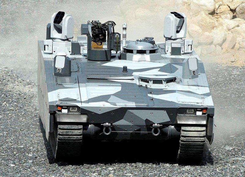 Боевая машине пехоты CV90 Armadillo (Швеция)