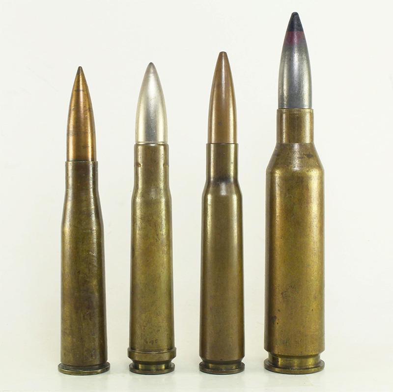 Сравнение патронов: 13,25×92 мм SR, .55 Boys, .50 BMG, 14,5×114 мм