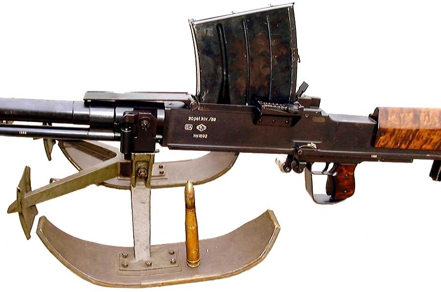 Противотанковое ружье Lahti L-39 и патрон 20×138 мм