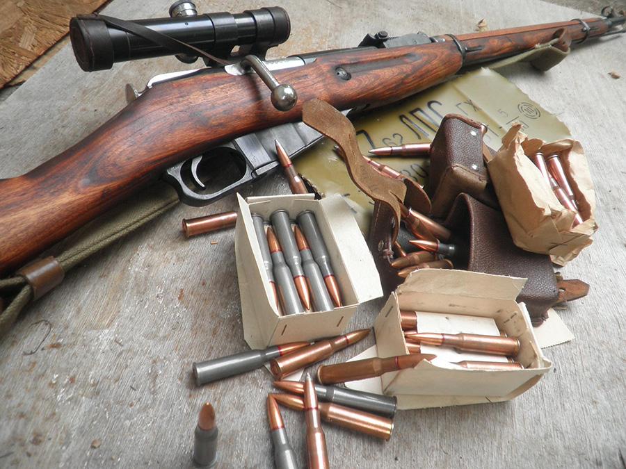 патроны 7,62×54 мм