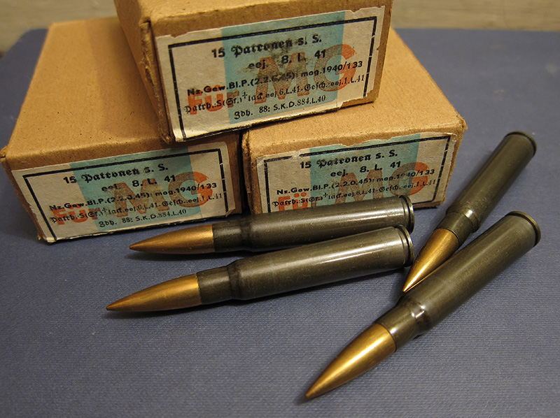 Патроны 7,92×57 мм Маузер с пулей s.S