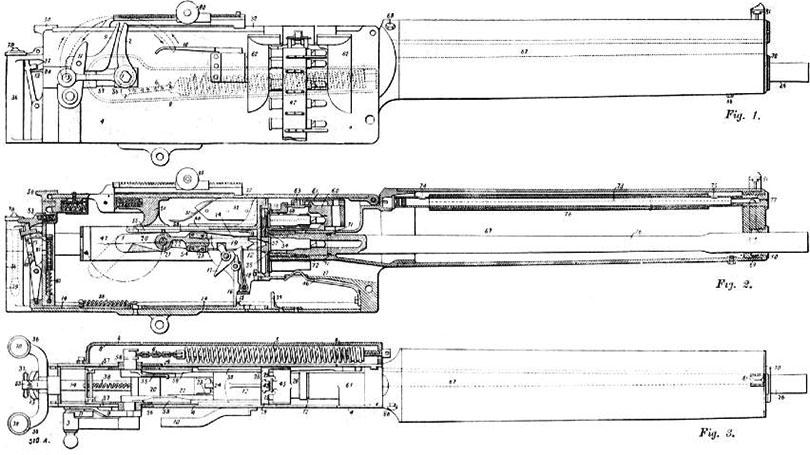 Чертежи пулемёта Максим