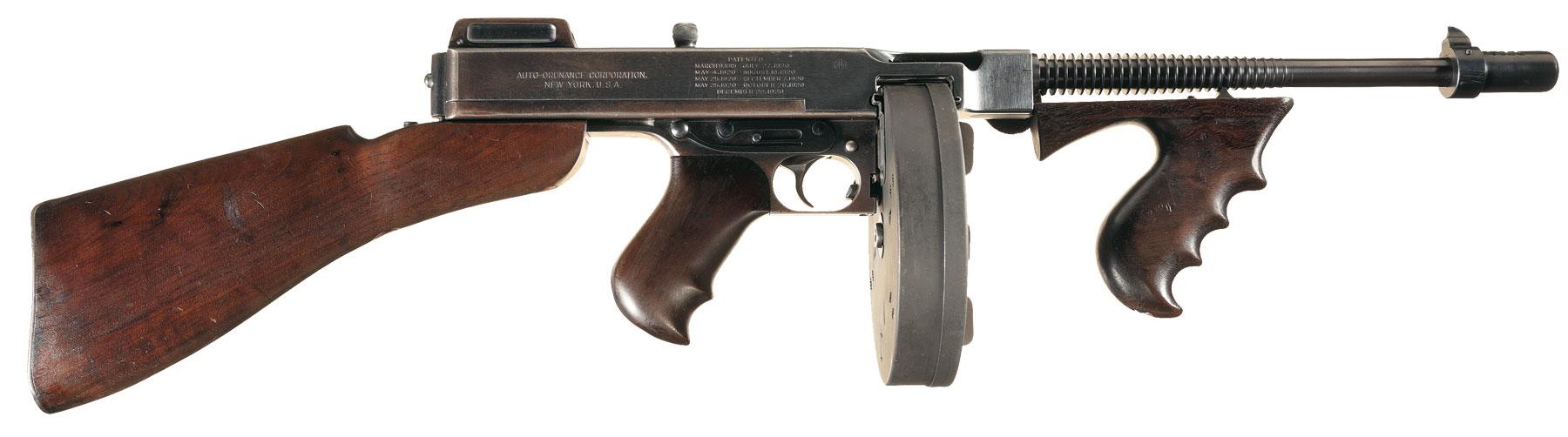 Пистолет-пулемет Thompson М1921