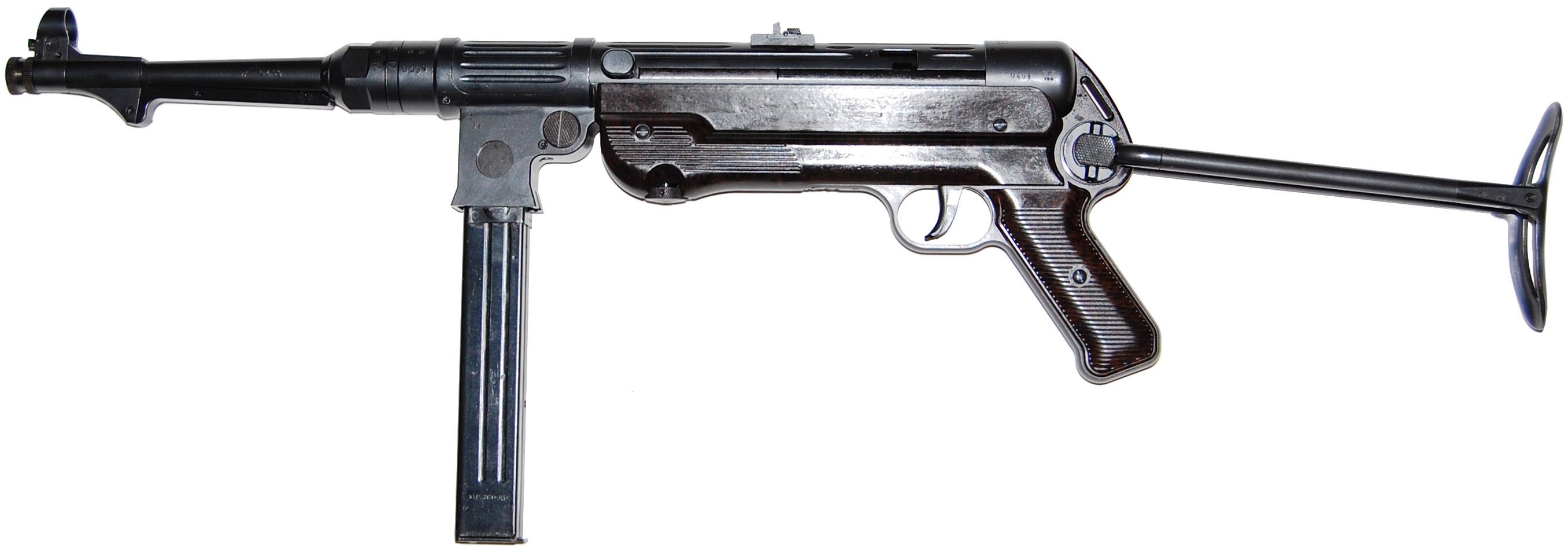 MP 38 с разложенным прикладом