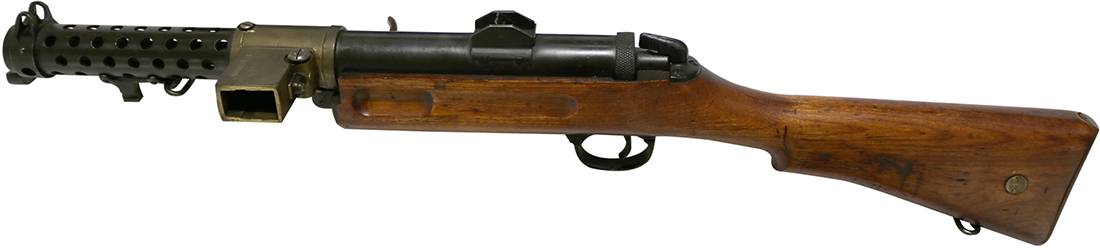Хайрем Максим со своим пулемётом