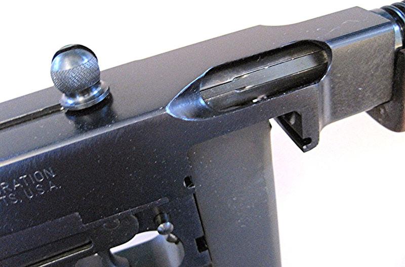 Рукоять взведения затвора пистолета-пулемёта Thompson М1928A1