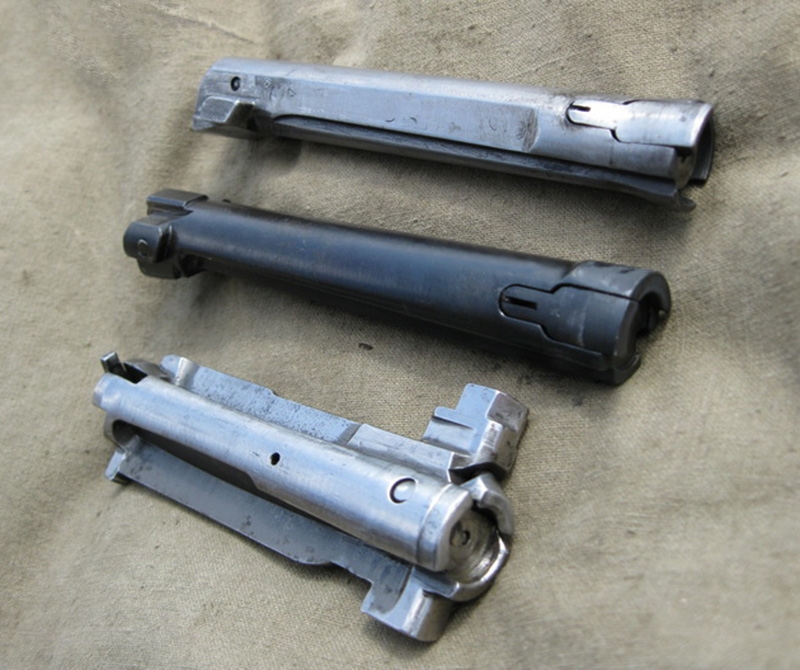 Затворы самозарядных винтовок СВТ-40, AG42B Ljungman и Garand М1