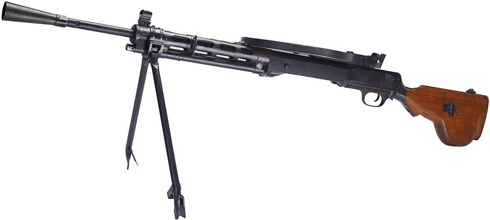 Пулемёт ДП на сошках
