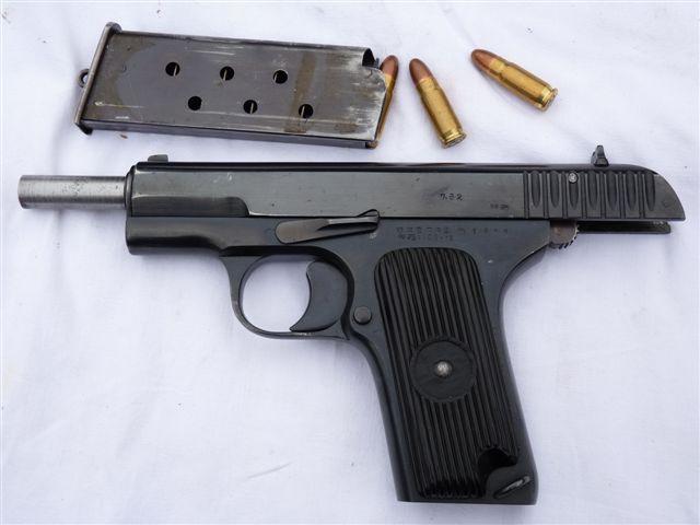 Пистолет ТТ на затворной задержке