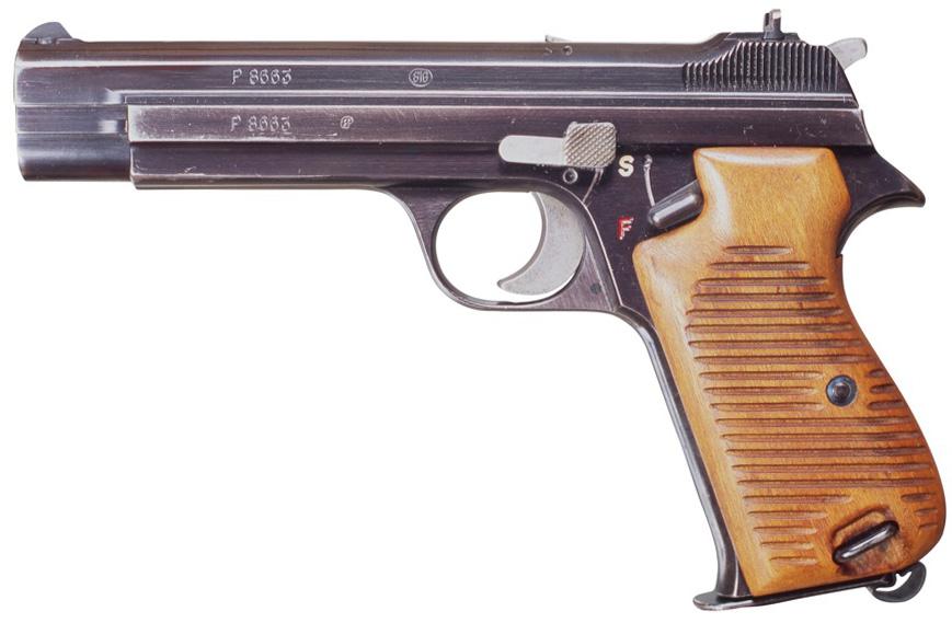 Пистолет SIG P210