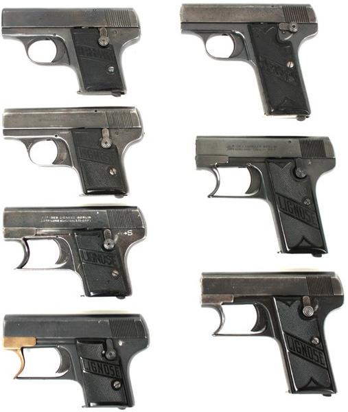 Пистолеты Lignose