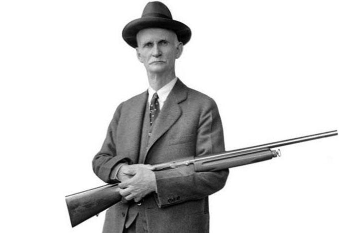 Джон Мозес Браунинг и ружье Browning Auto-5