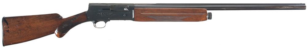 Гладкоствольное самозарядное ружье Browning Auto-5 бельгийского выпуска, ранний вариант