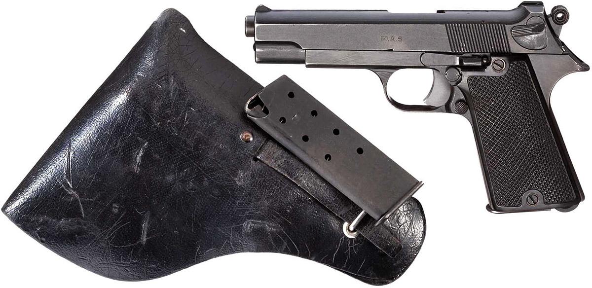 Пистолет MAS Modèle 1935S с кобурой и запасным магазином