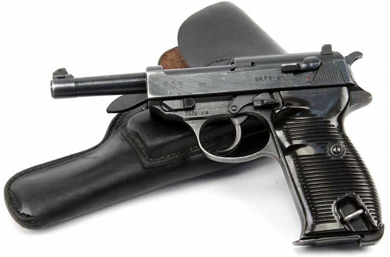 Пистолет Walther Р.38 с кобурой