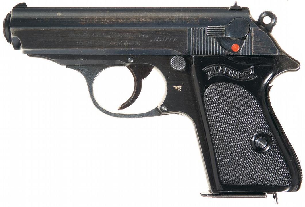 Пистолет Walther PPK калибра 7,65 мм, выпуска конца войны