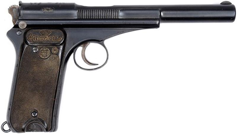 Пистолет Campo Giro 1913-16 под патрон 9 мм Bergmann-Bayard