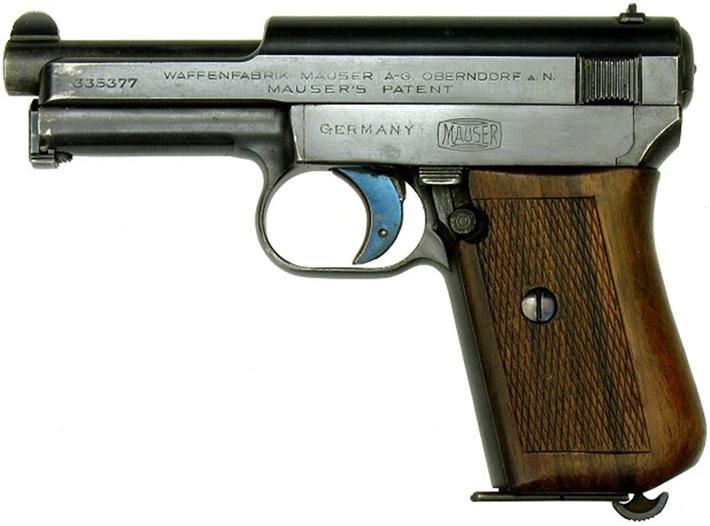 Пистолет Mauser M1914