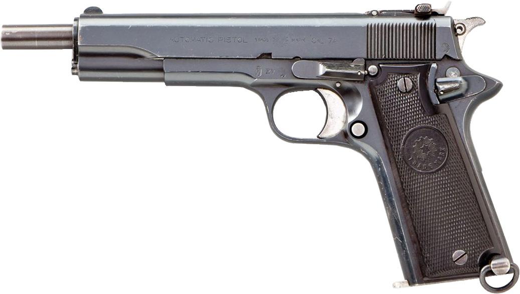 Пистолет Star Modelо A под патрон 7,63×25 мм Mauser с удлинённым стволом
