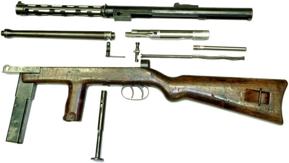 Пистолет-пулемёт Mors wz.39