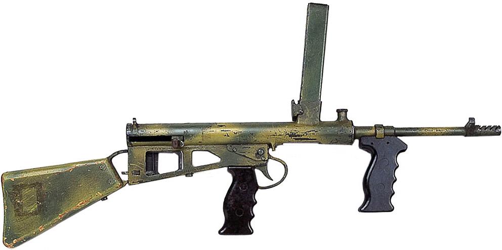 Пистолет-пулемёт Owen Mk1/43