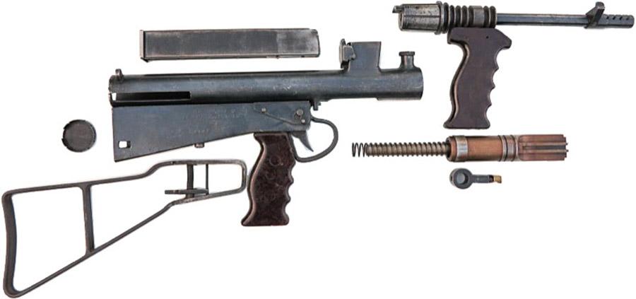 Пистолет-пулемёт Owen Mk1/42