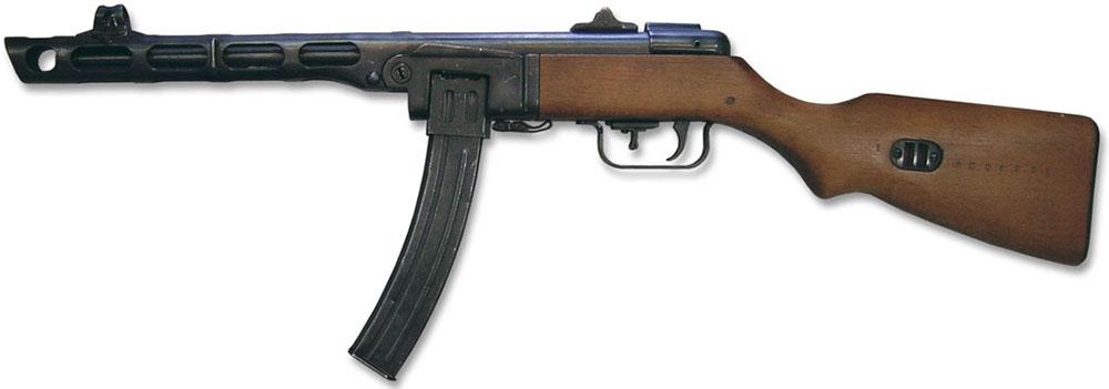 ППШ-41 с коробчатым магазином