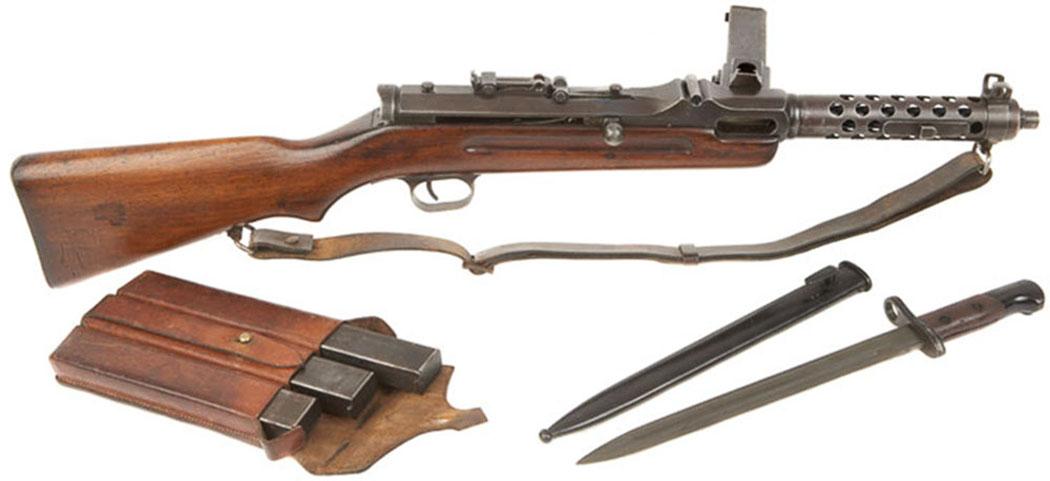 Пистолет-пулемёт Steyr-Solothurn S1-100