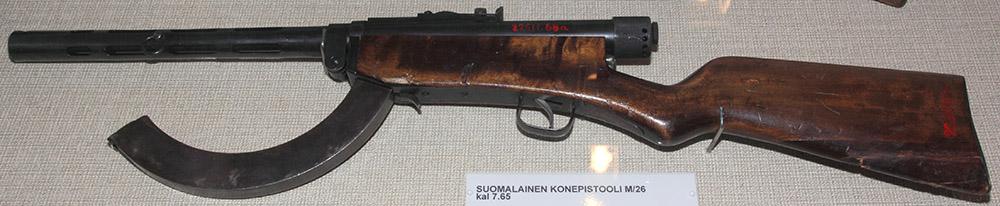 Пистолет-пулемёт Suomi m/26