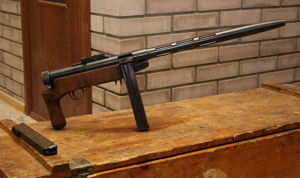 Пистолет-пулемёт Suomi KP/-32 «KORSU»