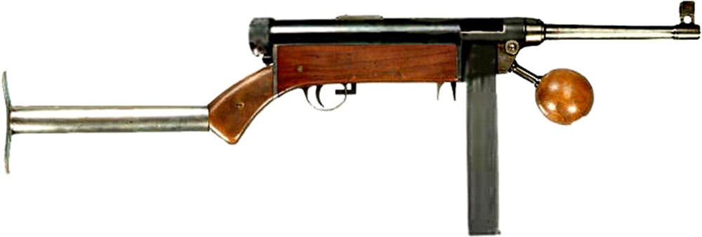 Пистолет-пулемёт Lettet-Forsøgs