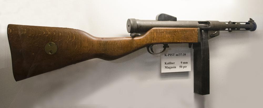 Пистолет-пулемёт m/37-39 укороченным стволом