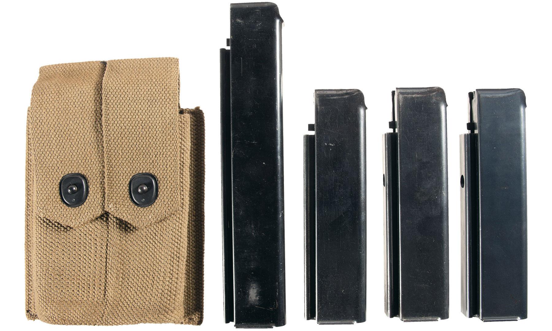 Магазины на 30 и 20 патронов и подсумок для их переноски