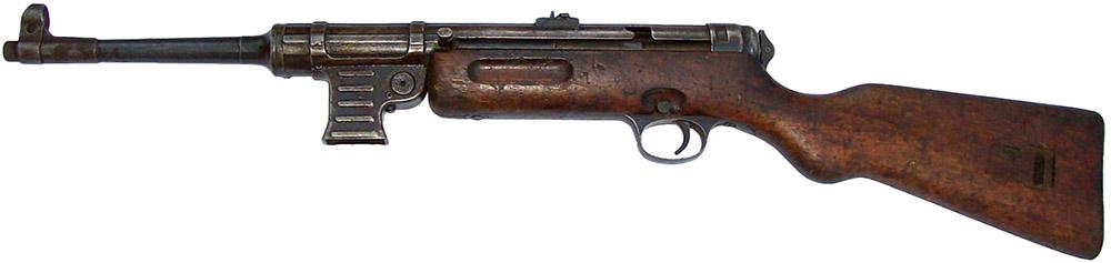 Пистолет-пулемёт MP 41 без магазина, вид слева
