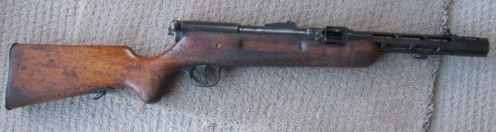 Пистолет-пулемёт MP 34/I
