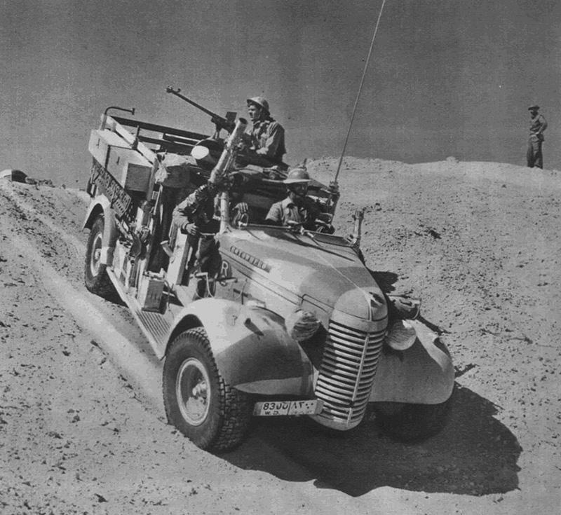 ПТР Boys Mk. I у солдат Дальнего пустынного патруля (L.R.D.G.)