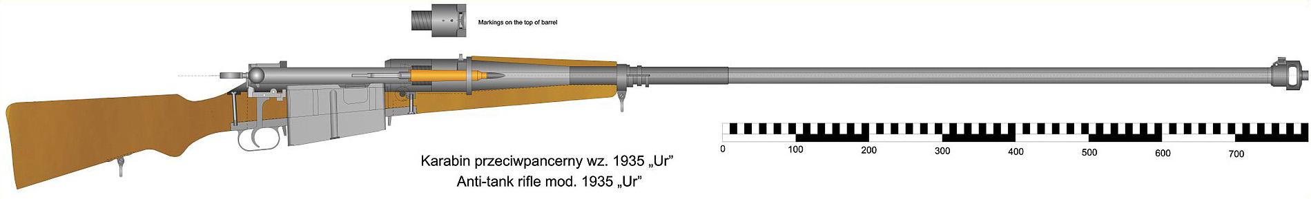 Противотанковое ружьё WZ. 35. © Ary2
