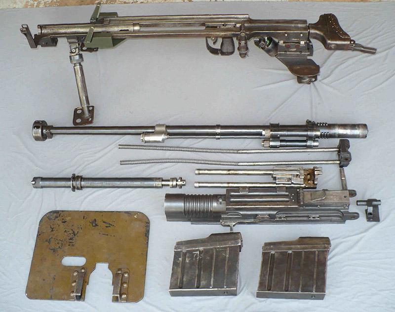 Неполная разборка ПТР Тип 97
