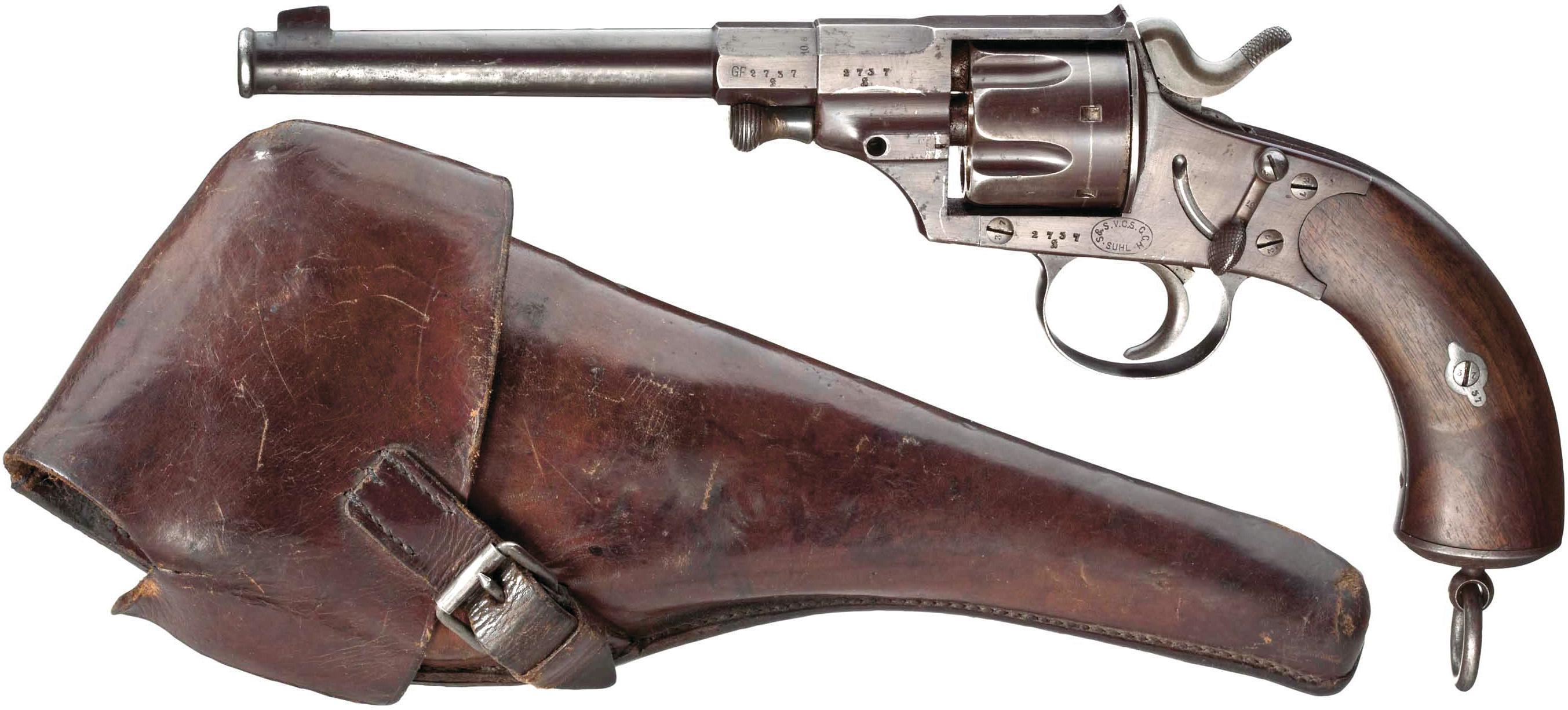 Reichsrevolver M1879 и его кобура
