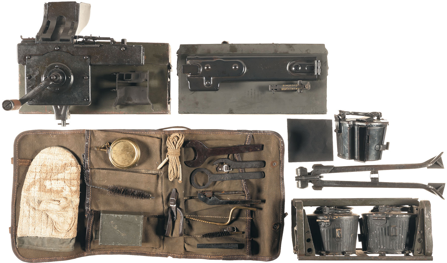 Комплект принадлежностей и запасных частей для пулемёта MG 42