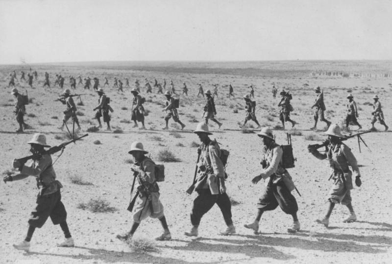 Итальянские солдаты в Абиссинии