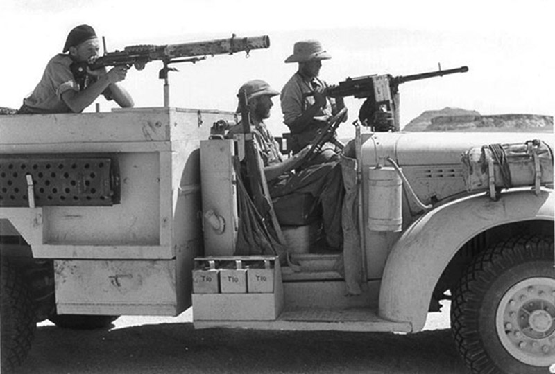 Бойцы дальнего пустынного патруля (L.R.D.G.)