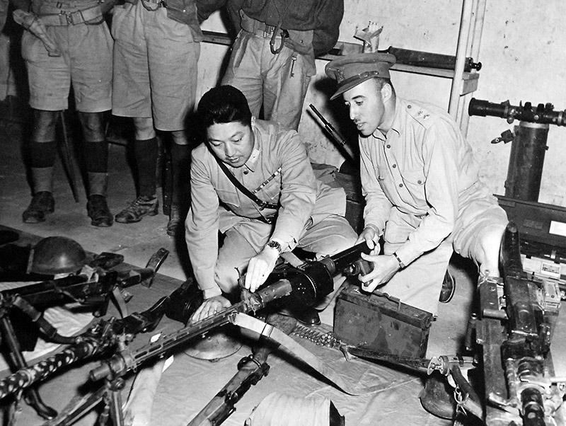 Пулемёт MG 15 в пехотном варианте