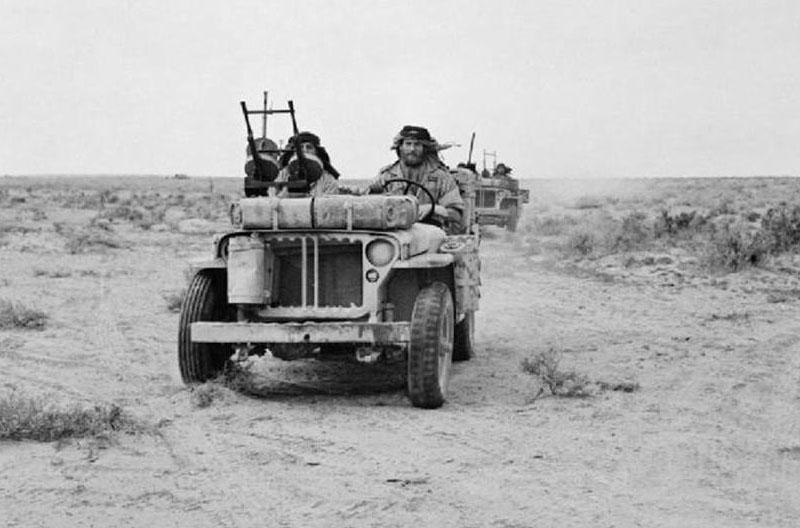 Солдаты SAS во время патрулирования