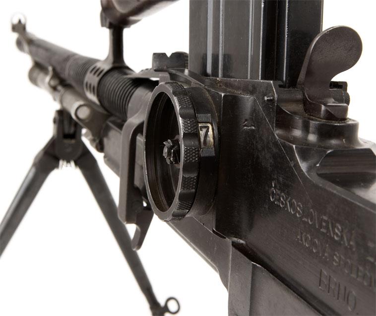 Прицельное приспособление пулемёта ZB vz. 26