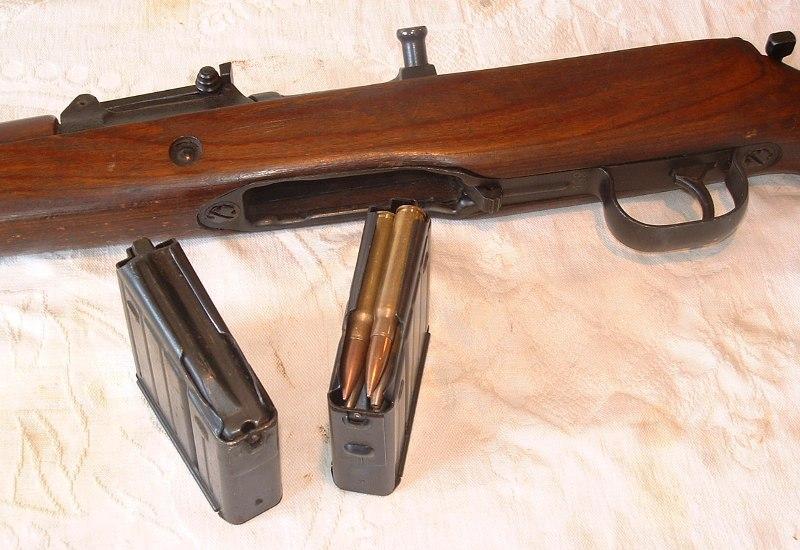 Самозарядная винтовка G43/K43 с магазинами на 10 патронов