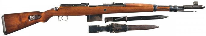 Самозарядная винтовка G41 с оптическим прицелом ZF 41