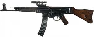 StG 44 с прицелом ZF4