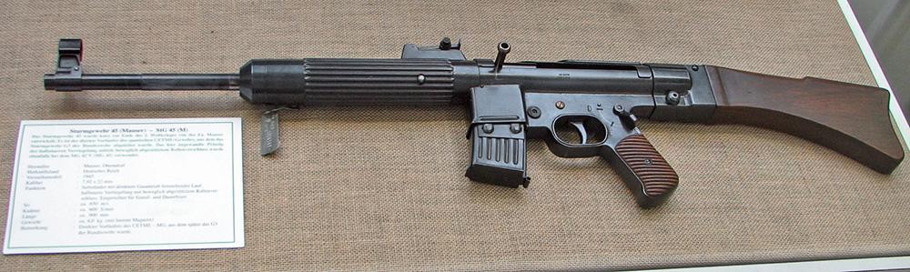 StG 45 с магазином на 10 патронов